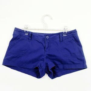 EUC Royal Blue Chino Shorts 100% Cotton Size: 9